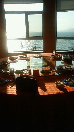 星海公園近くのレストランです。