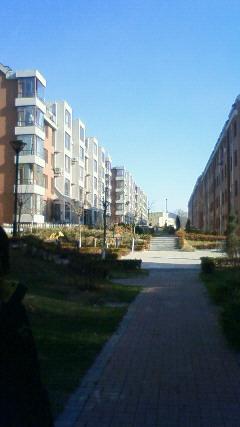 義父のマンション街です。