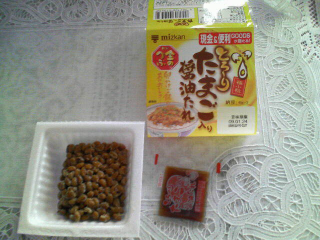 今日は納豆の話です。