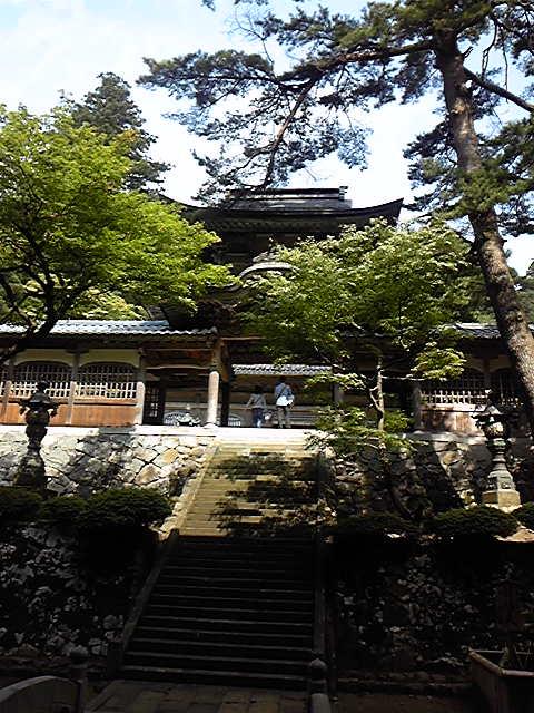 永平寺へ行きました。