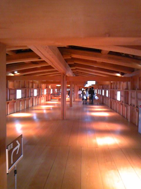 金沢城の中